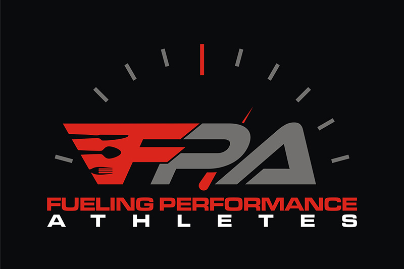 Large FPA Logo on Black Background